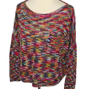 Roxy Multicolor Front Pocket Sweater